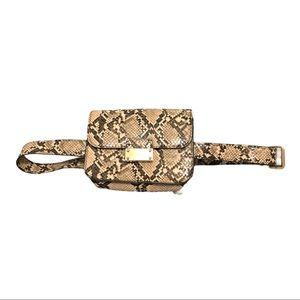 A New Day Snake Print Belt Bag